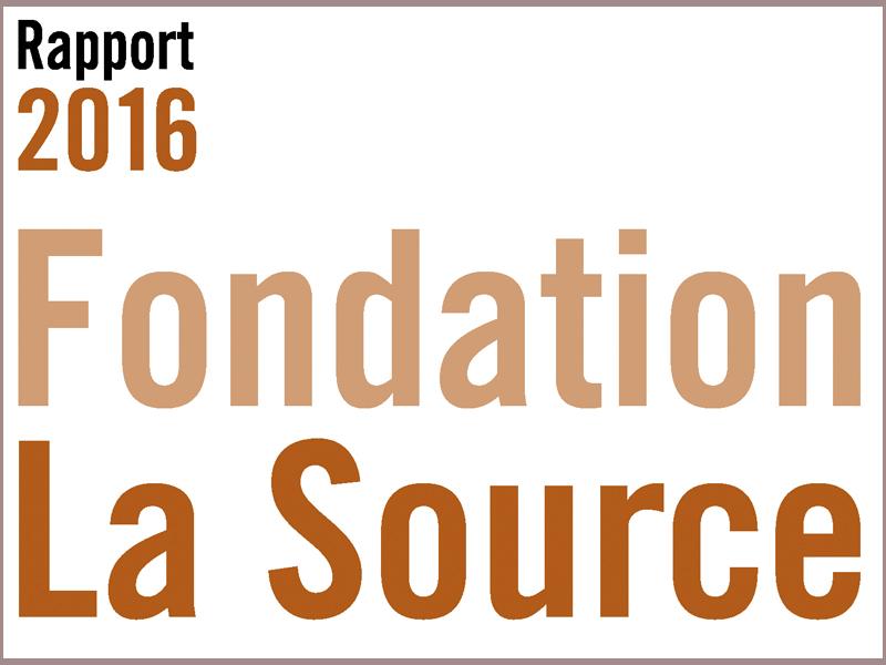 Rapport annuel La Source 2016