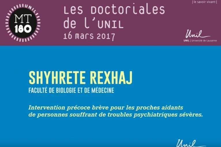 «Les Doctoriales de l'UNIL: Ma thèse en 180 secondes!»