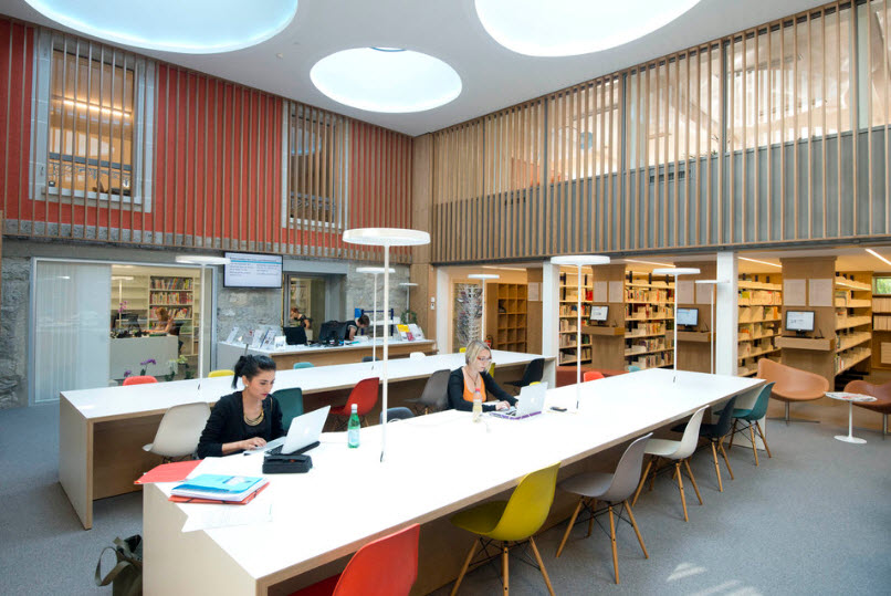 Centre de documentation cedoc institut et haute ecole for Interieur cours nice