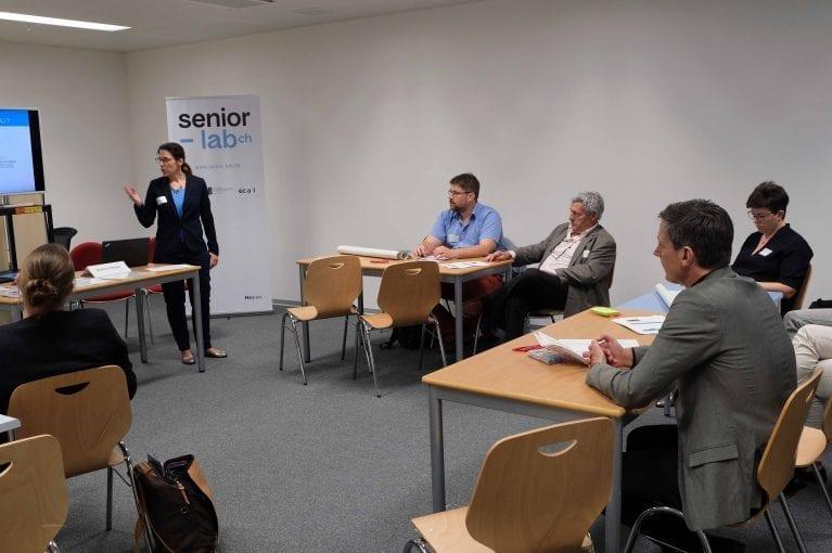Congrès intercantonal Les enjeux du vieillissement en Suisse et à l'étranger 2019-17