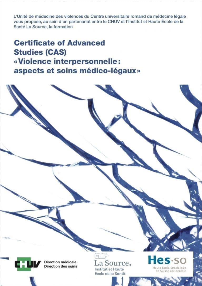 CAS Violence interpersonnelle: aspects et soins médico-légaux