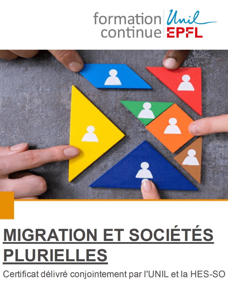 CAS Migration et sociétés plurielles