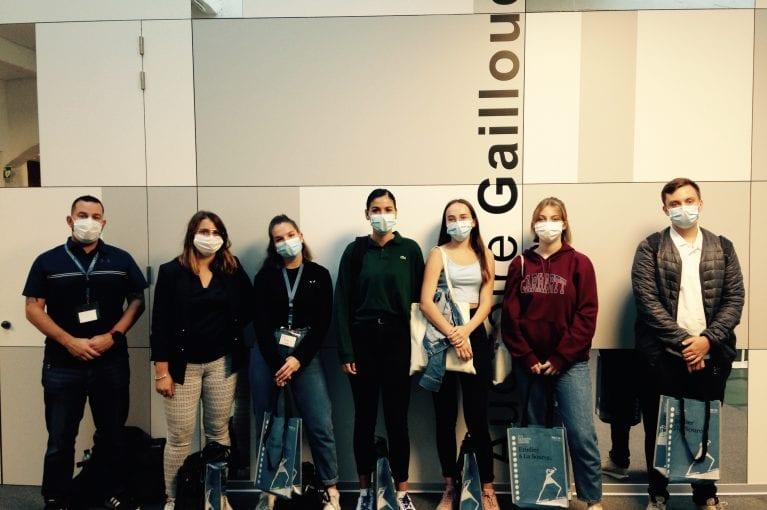 Une journée «Étudiant d'1 jour» masquée et en petit comité