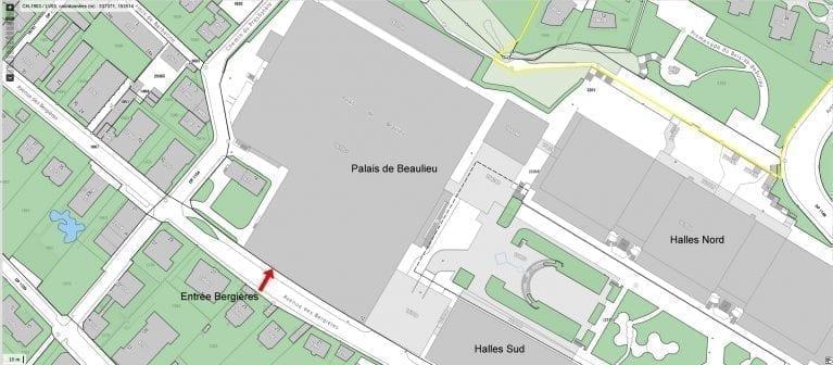 Plan d'accès Beaulieu