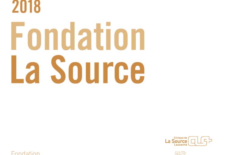 Le rapport annuel de la Fondation La Source est en ligne!